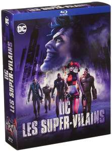 Coffret Blu-Ray 3 films : DC Les Super-Vilains (Batman : The Killing Joke + Batman : Assaut sur Arkham + Batman et Harley Quinn)