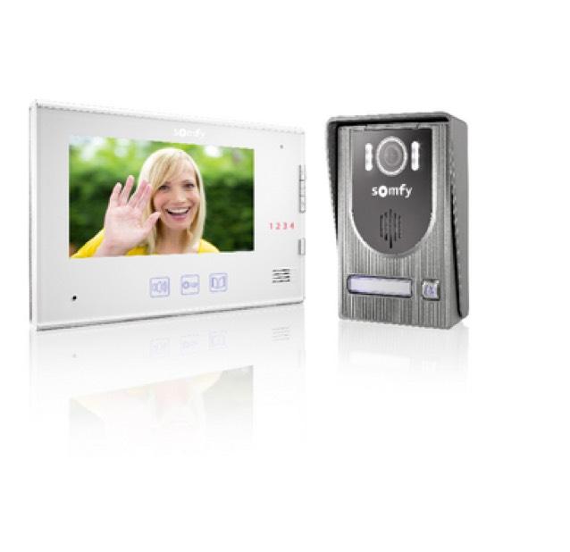 "Visiophone Somfy V250 - avec écran 7"" + touches tactiles"