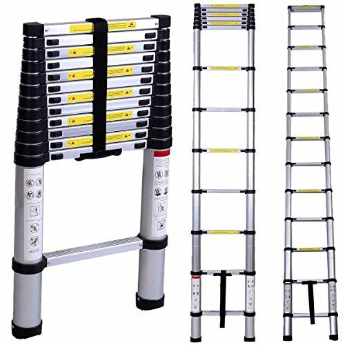 Échelle Télescopique extensible Lifewit - en aluminium, 150 kg max. (vendeur tiers)