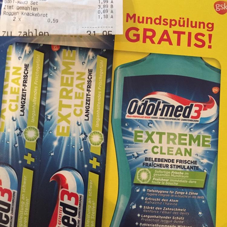 2 Tubes de Dentifrices + bain de bouche 500ml - Lidl Perl (Frontaliers Allemagne)