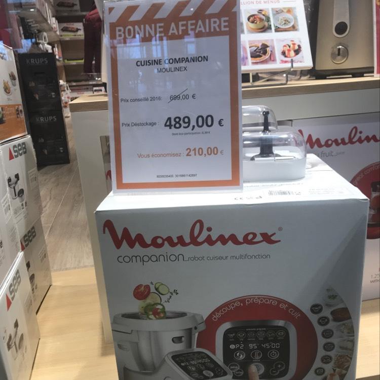 Robot cuiseur Companion Moulinex - Home & Cook Coquelles (62)
