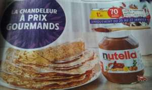 Pot de pâte à tartiner Nutella - 950 g