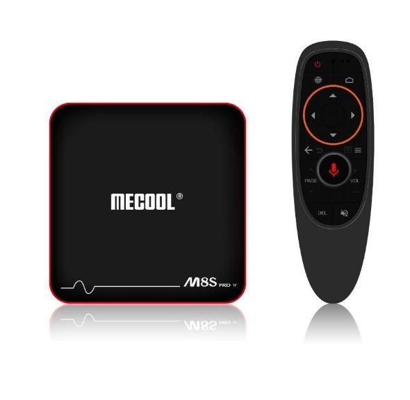 [Pré-commande] Box TV Android Tv 7.1 Mecool M8S PRO W - S905W, 2 Go de RAM, 16 Go, contrôle vocal