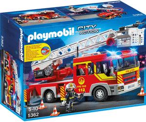 Sélection de jouets en promotion - Ex : Playmobil Camion de pompier avec échelle pivotante et sirène (5362)