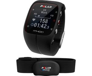 Montre de running Polar M400 HR (noir) + ceinture cardio