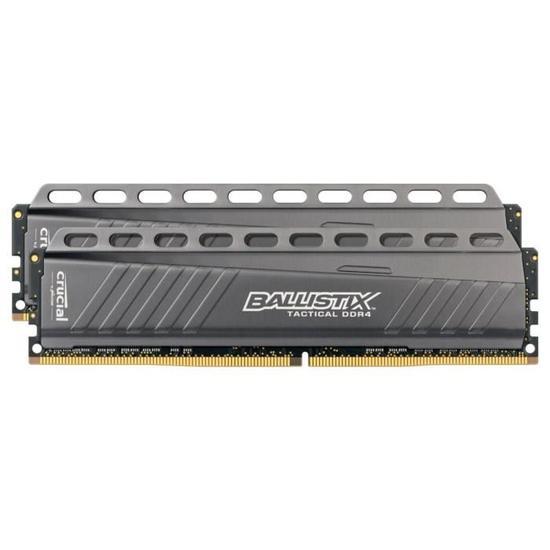 Kit mémoire DDR4 Ballistix Tactical 16 Go (4 x 4 Go) - 3000MHz, CL15