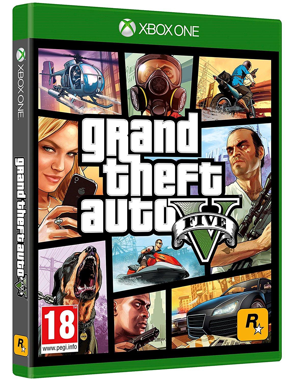 Jeu Grand thef Auto 5 (GTA V) ou Forza Motorsport 7 sur Xbox One