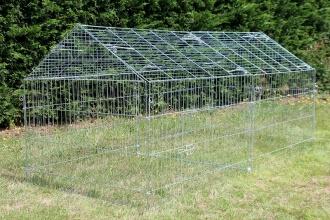 Selection d'article animalerie en soldes - Ex : Enclos, cage d'extérieur fermé ZOLIA TITO 220cm