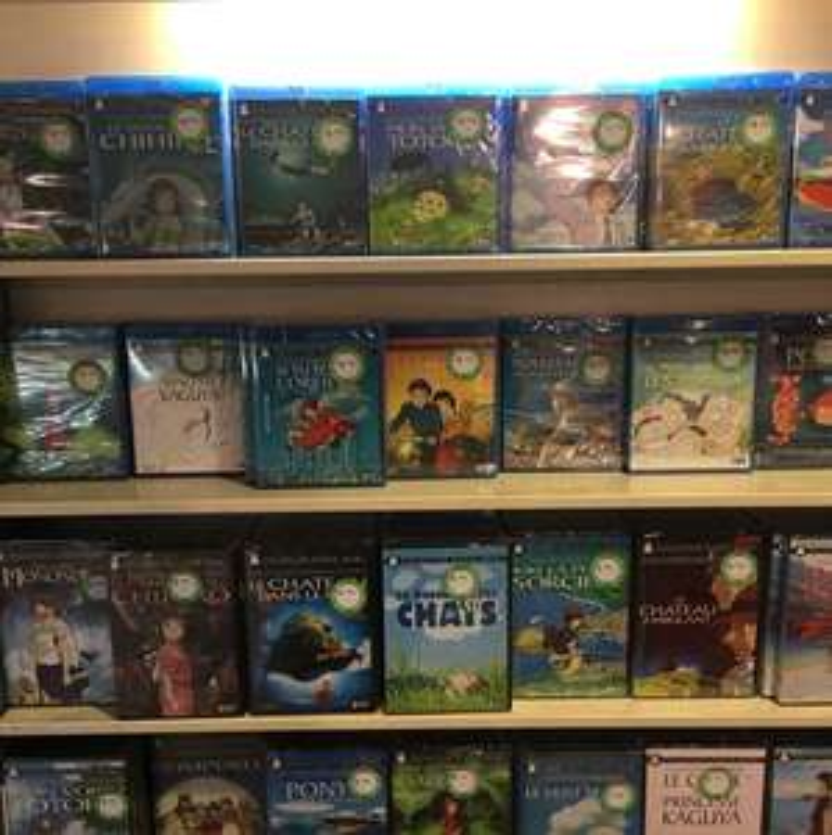 Intégral studio Ghibli blu-ray en promotions - Ex : Blu-ray le voyage de chihiro - Val d'Europe (77)
