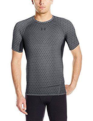 T-shirt de Compression Under Armour à Manches Courtes Homme - Plusieurs tailles et coloris à partir de 9.36€