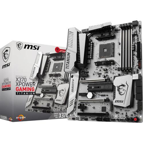 Carte mère MSI X370 Xpower Gaming Titanium