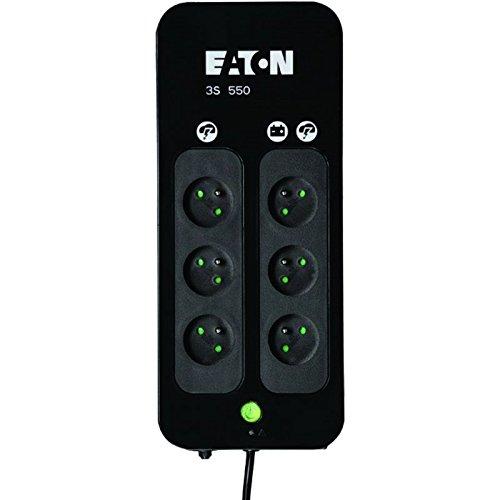 Onduleur Eaton 3S 330 Watt 550 VA 5 Ah 6 connecteurs de sortie France