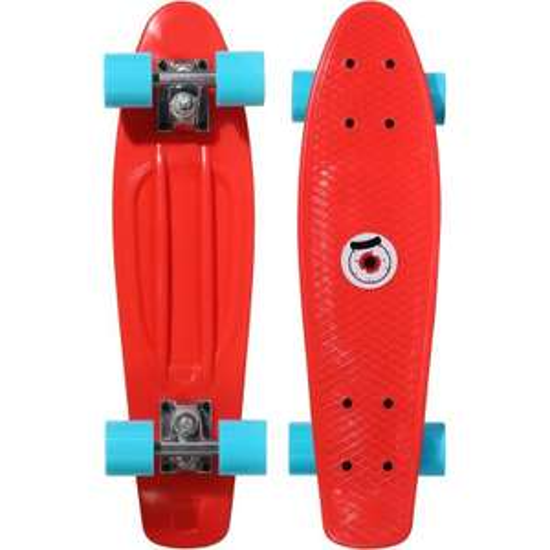 Mini Skateboard Oxelo pour Enfant - Rouge