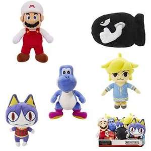 Lot de 8 peluches 15 cm Nintendo
