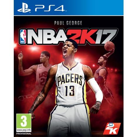 Nba 2k17 sur  PS4