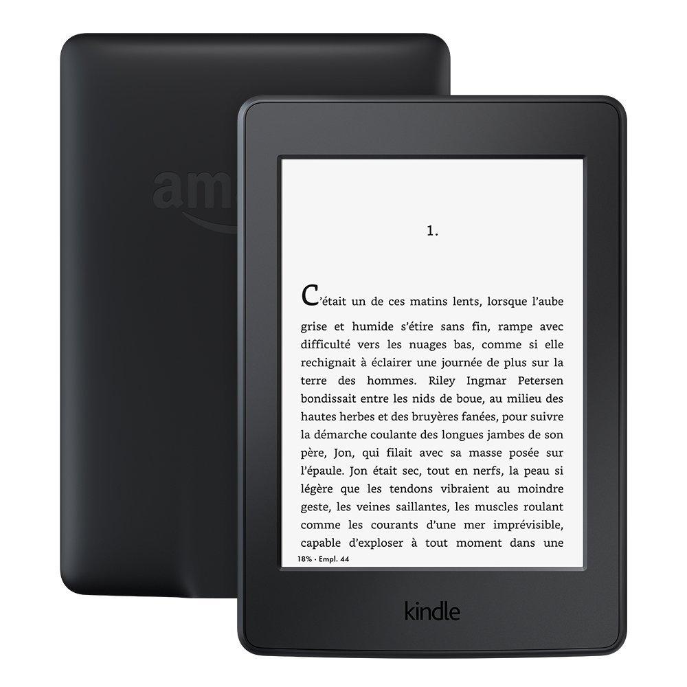 """[Prime] Liseuse 6"""" Kindle Paperwhite - Eclairage intégré et Wi-Fi, Noir (Avec offres spéciales)"""