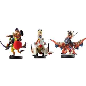 Pack de 3 figurines Amiibo Monster Hunter