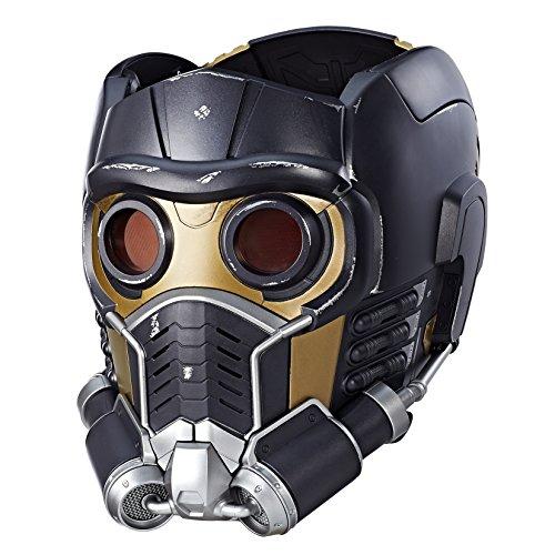 Casque électronique Star Lord Marvel Legends (haut-parleur Bluetooth intégré, yeux LED rouges, effets sonores) par Hasbro des Gardiens de la Galaxie