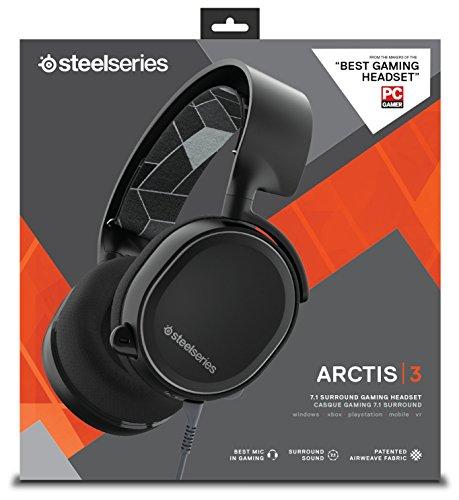 Casque audio SteelSeries Arctis 3 - noir
