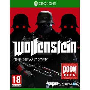 Wolfenstein The New Order Jeu XBOX One