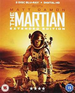 Blu-ray Seul sur Mars - Extended Edition (VO ou Version Canadienne)