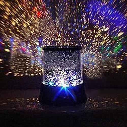 Lampe projecteur ciel étoilé