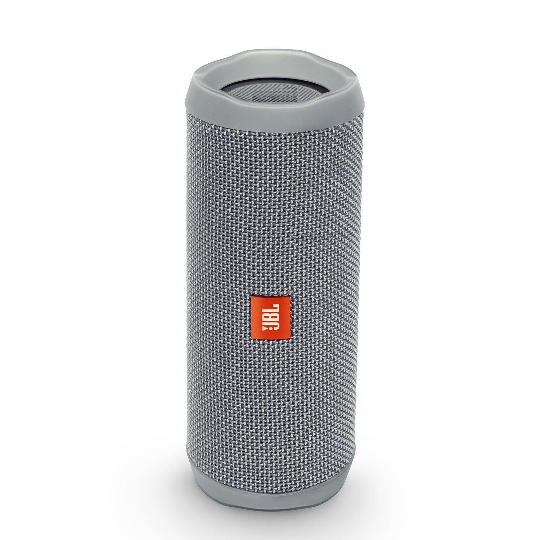 Enceinte Bluetooth JBL Flip 4 - blanc, gris ou bleu