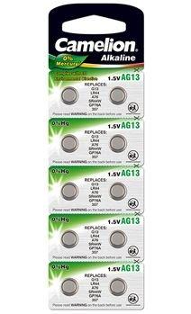 Lot de 20 piles boutons LR44 Camelion Plus Alkaline (vendeur tiers)
