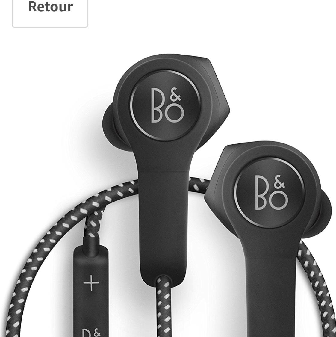Écouteurs Intra-Auriculaires sans Fil B&O Playde Bang & Olufsen H5 - Bluetooth, Noir