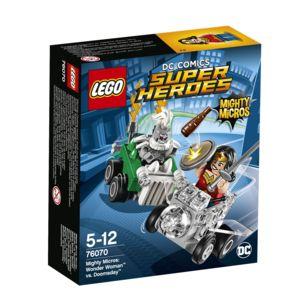 Jeu de construction Lego Mighty Micros en promotion - Ex: Wonder Woman contre Doomsday n°76070