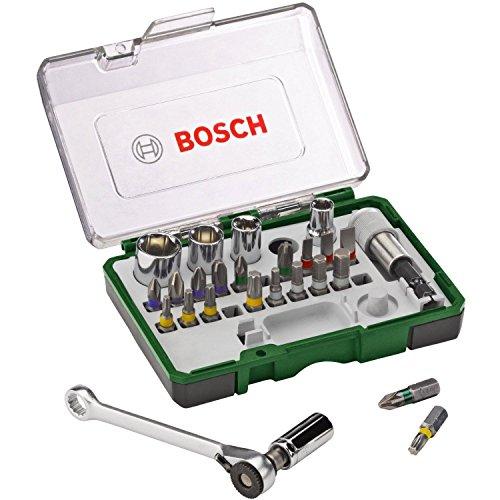 Coffret clé à cliquet 27 pièces Bosch 2607017160