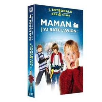Coffret DVD Maman, j'ai raté l'avion - Intégrale des 4 films