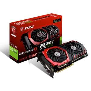 Carte graphique MSI GeForce GTX 1080 Gaming X 8Go