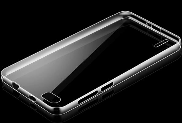 Coque arrière rigide transparente pour smartphone Honor 6