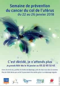 Dépistage gratuit du cancer du col de l'utérus - Somme (80)