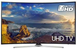 "TV LED 49"" Incurvée Samsung UE49MU6292 - UHD 4K, HDR, Smart TV"
