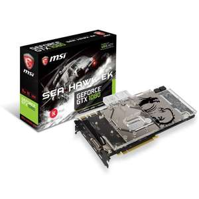 Carte graphique MSI GeForce GTX 1080 SEA HAWK EK X 8 Go GDDR5X