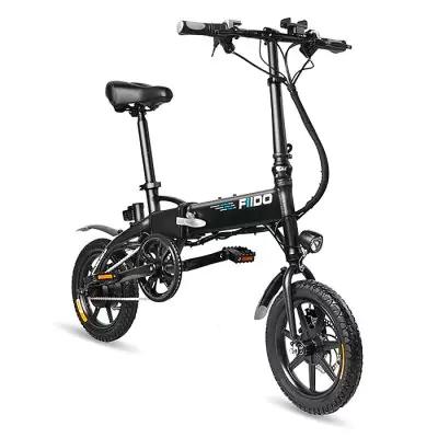 Vélo Electrique pliant FIIDO D1 Folding  7.8Ah Noir