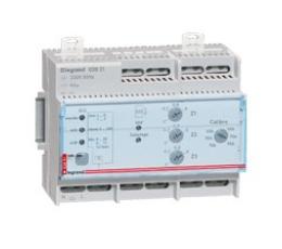 Gestionnaire modulaire pour chauffage électrique fil pilote pour 3 zones