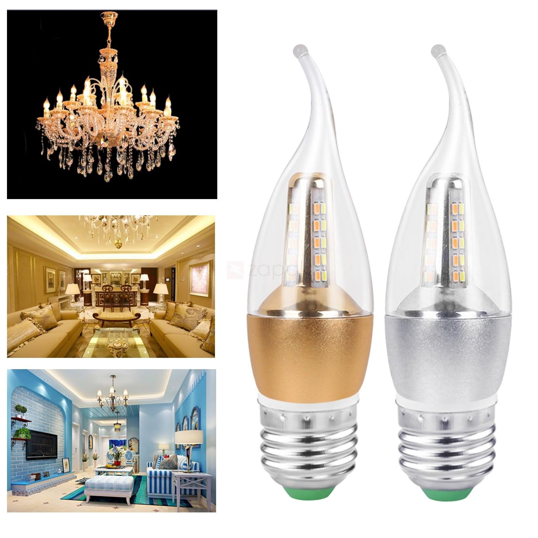 Ampoule 60 LED en forme de Bougie (5W E27) - Blanc froid ou chaud