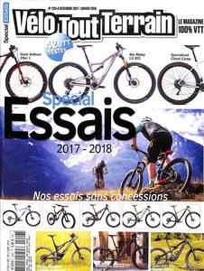 Abonnement d'un an au magazine Vélo Tout Terrain + GPS pour vélo Sigma Rox 11.0