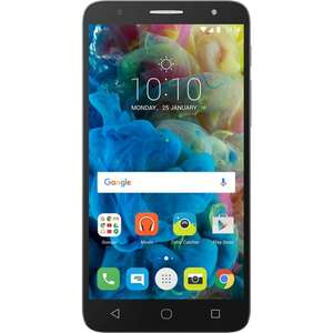 "Smartphone 5.5"" Alcatel POP4+ - HD, Snapdragon 210, RAM 1.5 Go, ROM 16 Go"