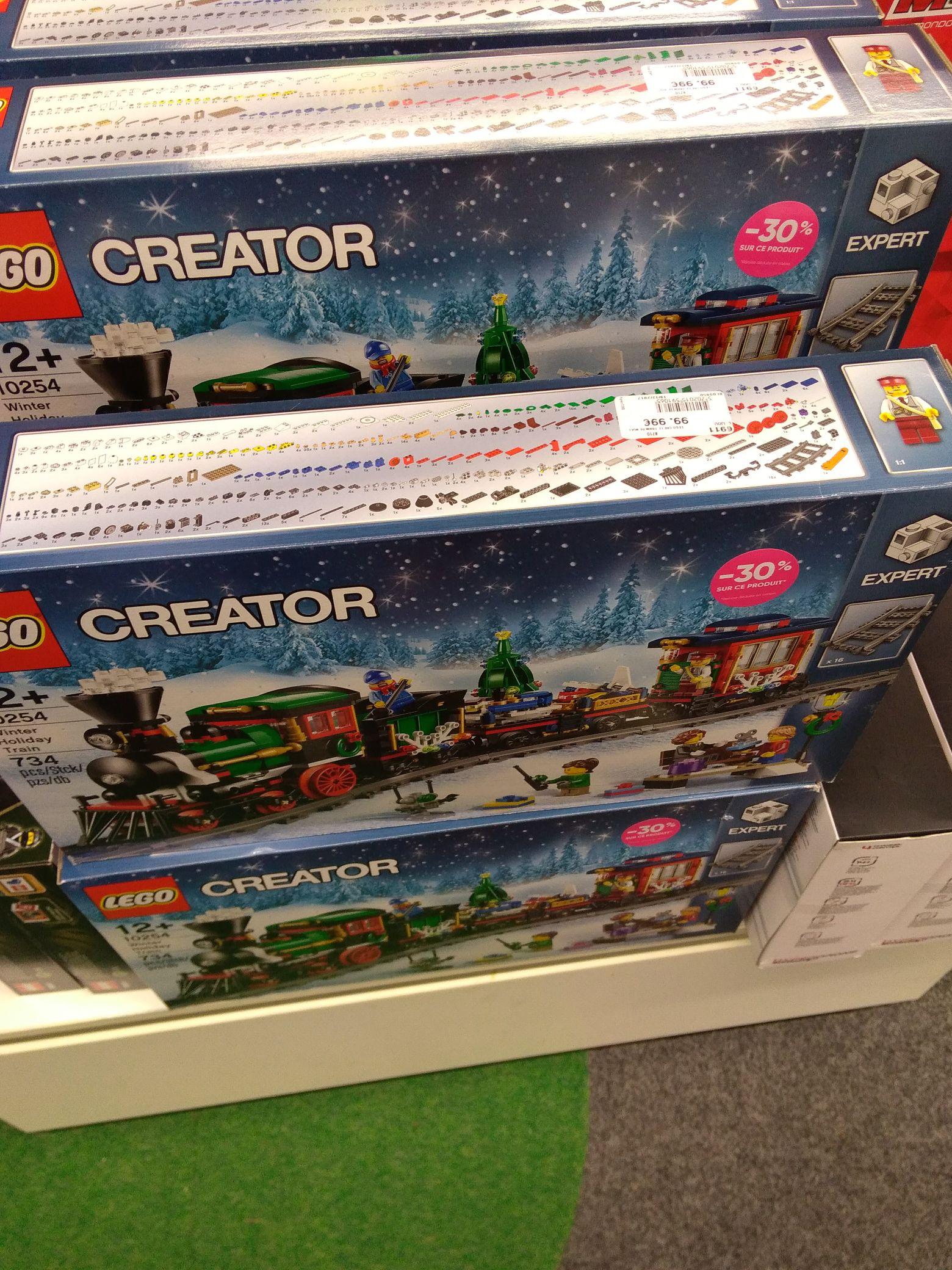 LEGO Creator 10254 - Le train de Noël - La Croix-Blanche (91)