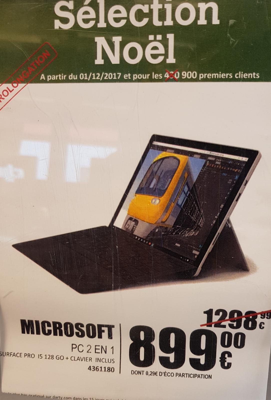 Microsoft Surface Pro - i5, 128 Go + Clavier Type Cover Noir inclus - Gramont (31)