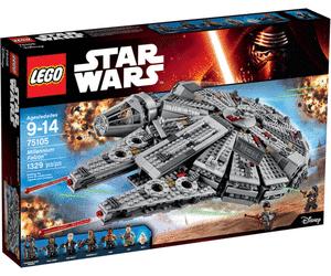 30% de réduction sur une sélection de jouets Lego - Ex : Lego Star Wars - Millennium Falcon (75105) au Cora Évreux (27)