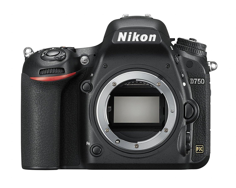 Appareil photo reflex Nikon D750 (boitier nu) - Full Frame, 24.3 Mpx