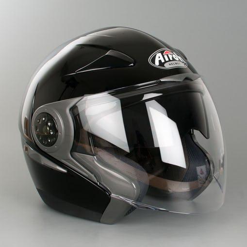 Casque Airoh J56 noir-gloss (taille XS)