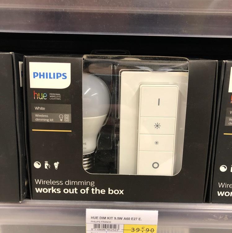 Kit de démarrage Philips Dimming Kit - Serval (60)