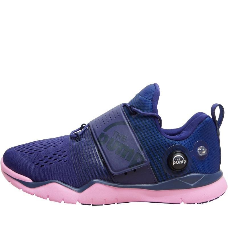 Reebok Baskets ZPump Fusion TR Femme Bleu Marine 35 à 40
