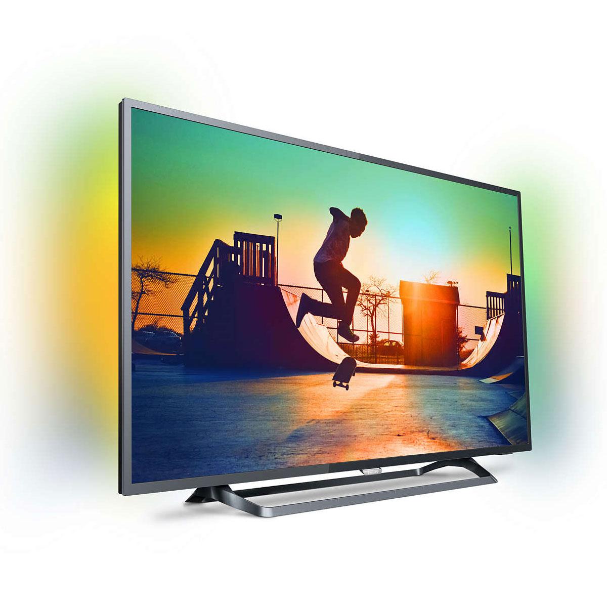 """Sélection de TV en promotion - Ex : TV 55"""" Philips 55PUS6262 - LED, 4K UHD, HDR, Smart TV, Ambilight 2 côtés"""